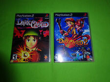 Empty Replacement Cases -  Dark Cloud 1 2  RPG  - Sony PlayStation 2 PS2
