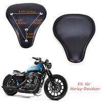 Motorrad Solo Sitz Schwingsattel Sitzfedern für Harley Chopper Sportster Bobber