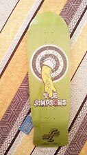 The SIMPSONS HOMER series DECK SANTA CRUZ Roskopp Heritage limited edition 2015