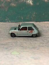 Majorette RENAULT 5 No:257 Diecast Vintage Toy CAR GREY Scale 1/55