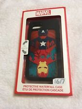 Marvel Captain America Iron Man iPhone 6 / 7 Protective Waterfall Cellphone Case
