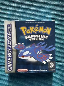 Pokémon: Sapphire Version (Nintendo Game Boy Advance 2003) Europe Version BOXED