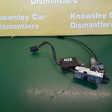 JAGUAR XJ X300 PASSENGER SIDE REAR DOOR LOCK MECHANISM
