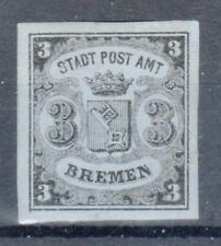 """Bremen, Sc#1A, VF+ MOG, looks NH, Type 3, Signed """"Rohr"""", Germany"""
