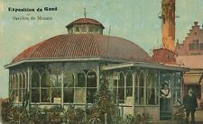 1913 Gand Exposition Pavillon de Monaco Monaco Pavilion