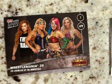 2019 TOPPS NOW WWE WRESTLEMANIA 35 CARD WOMAN'S PREVIEWSHOWCASE  IMMORTALS #10
