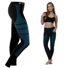 Womens Base Layer Tights Sweat Free Cold Protector Breathable Thermal Stretch