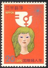 Japan 1975 IYW/International Women's Year/Bird/Animation/People 1v (n25284)