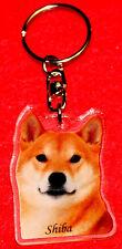 porte-cles chien shiba inu 3b dog keychain llavero perro schlusselring hund