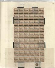 CAPE OF GOOD HOPE SG57 THE 1893 1don2d PALE BISTRE MARG PL. BLOCK) of 54 C £970+