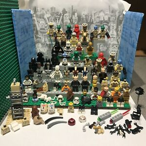 Huge Lego Star Wars Mini Figure Collection Job lot bundle and assorted spares ⭐️
