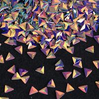 0.7g AB Farbe Nail Art Sequins Chamäleon Dreieck 3D Nagel Kunst Dekoration DIY
