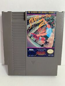 Skate or Die 2 (Nintendo Entertainment System 1990) NES Authentic and Tested