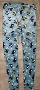 AE American Eagle Peanuts Super Hi-Rise Plush Leggings Snoopy Charlie Skating M
