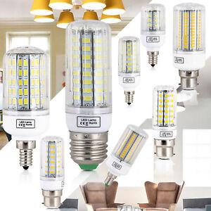 E12 E27 E14 B22 LED Corn Light Bulbs 5730 SMD 25W - 150W Equivalent Lamp RD184