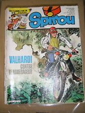 Spirou N° 2324 1982 BD Valhardi L'oncle Paul Aurore et Ulysse Ginger Flagada