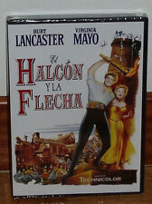 EL HALCON Y LA FLECHA - DVD - NUEVO - PRECINTADO - CLASICO - AVENTURAS