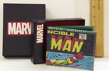 Iron Man Multi colored Leather Wallet  RGA Leatherworks NEW in box  B