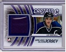 LUC ROBITAILLE 11/12 ITG Captain C SILVER Game-Used LA Kings Jersey #M-32 Card