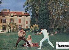 JACQUELINE BISSET MARC POREL LA PROMESSE SECRET WORLD 1969 VINTAGE LOBBY CARD 14