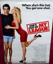 Cinema Poster: SHE'S OUT OF MY LEAGUE 2010 (One Sheet) Jay Baruchel