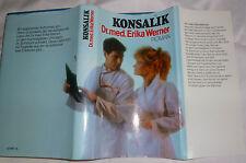 Dr. med. Erika Werner von Heinz G. Konsalik Roman Buch gebraucht