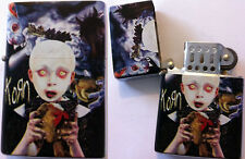 KORN Refillable Metal LIGHTER See You On The Other Side NEW OFFICIAL MERCH RARE