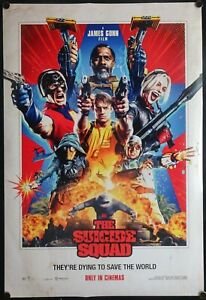 The Suicide Squad (2021) International One Sheet DC