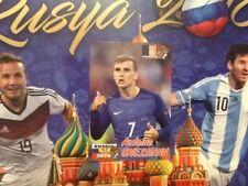 #130 Antoine Griezmann Francia schoolshop Copa Del Mundo Rusia 2018 Pegatina Atlético