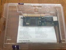 Netgear Fa331 Rev C1 PCI LAN Nic 10/100mbit PC Carte Réseau / Fast Ethernet