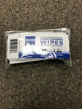 Zeiss Lens Wipe with Pouch, 20 Pack