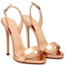 Hot Womens Open Toe High Heels Stiletto Sandals Buckle Slingback Shoes Party New