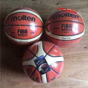 Size 7 Molten Basketball GG7X GF7X GM7X PU Indoor Outdoor Men's Ball FIBA Use