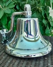"Perko 8"" Chrome Plated Bronze Fog Bell"