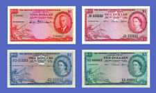 CARIBBEAN BRITISH - Lots of 4 notes - 1...5 Dollars - Reproductions