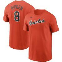 Nike Baltimore Orioles Cal Ripken Jr. #8 Cooperstown Collection Name & # T-Shirt