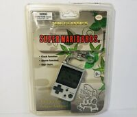 Super Mario Bros Mini Classics Video Game Keychain Clock Alarm LCD Nintendo New