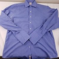 Brooks Brothers Men's Light Blue French Cuff Dress Shirt Size 16 1/2 - 36