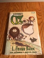 MARVEL The WONDERFUL Wizard of Oz HC GRAPHIC NOVEL BOOK L. FRANK BAUM SEALED NEW