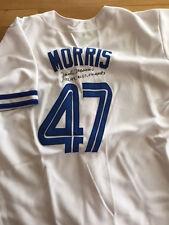 Blue Jays Jack Morris signed jersey WS Champs inscription W/COA