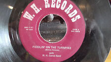 FIDDLIN ON THE TURNPIKE / BROKEN BOW W.H. CORRAL BAND BENNY KUBIAK WH RECORDS