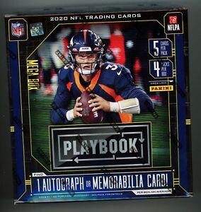2020 Panini Playbook Football FACTORY SEALED MEGA BOX 20 Cards Orange Retail SP