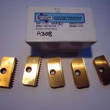 XACTFORM Carbide Threading Inserts 40NTM 8UN K20C Qty 5 -5018E815