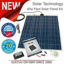 Solar Technology PV Logic 80W Flexi Solar Panel Kit & 10A Controller¦STPVFRT080