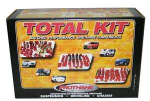 Prothane 7-2008 Polyurethane Bushing Total Kit (Red)   1984-1992 GM F-Body