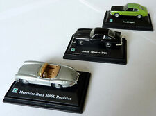 Hongwell OO Gauge Cars - Ford Capri, Aston Martin DB5, Merc 300SL - Exc Cond Box