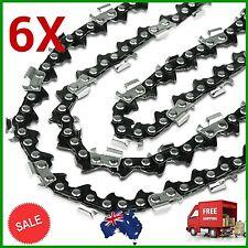 6X CHAINSAW CHAIN SEMI CHISEL 3/8 058 68DL for Husqvarna 455 460 Rancher Etc