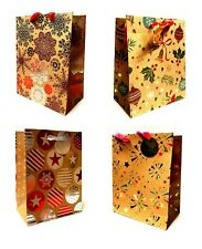 72 Geschenktüte Weihnachtstüten Geschenktüten MINI 14 x 11,5 x 6,5cm- BPbraun