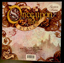 """DCWV Die Cuts With A View Once Upon A Time Fairy Tale 8x8 8"""" Paper Pad 48 Sheets"""