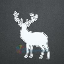 Deer Metal Cutting Dies Stencil For DIY Scrapbooking Embossing Paper Card Decor
